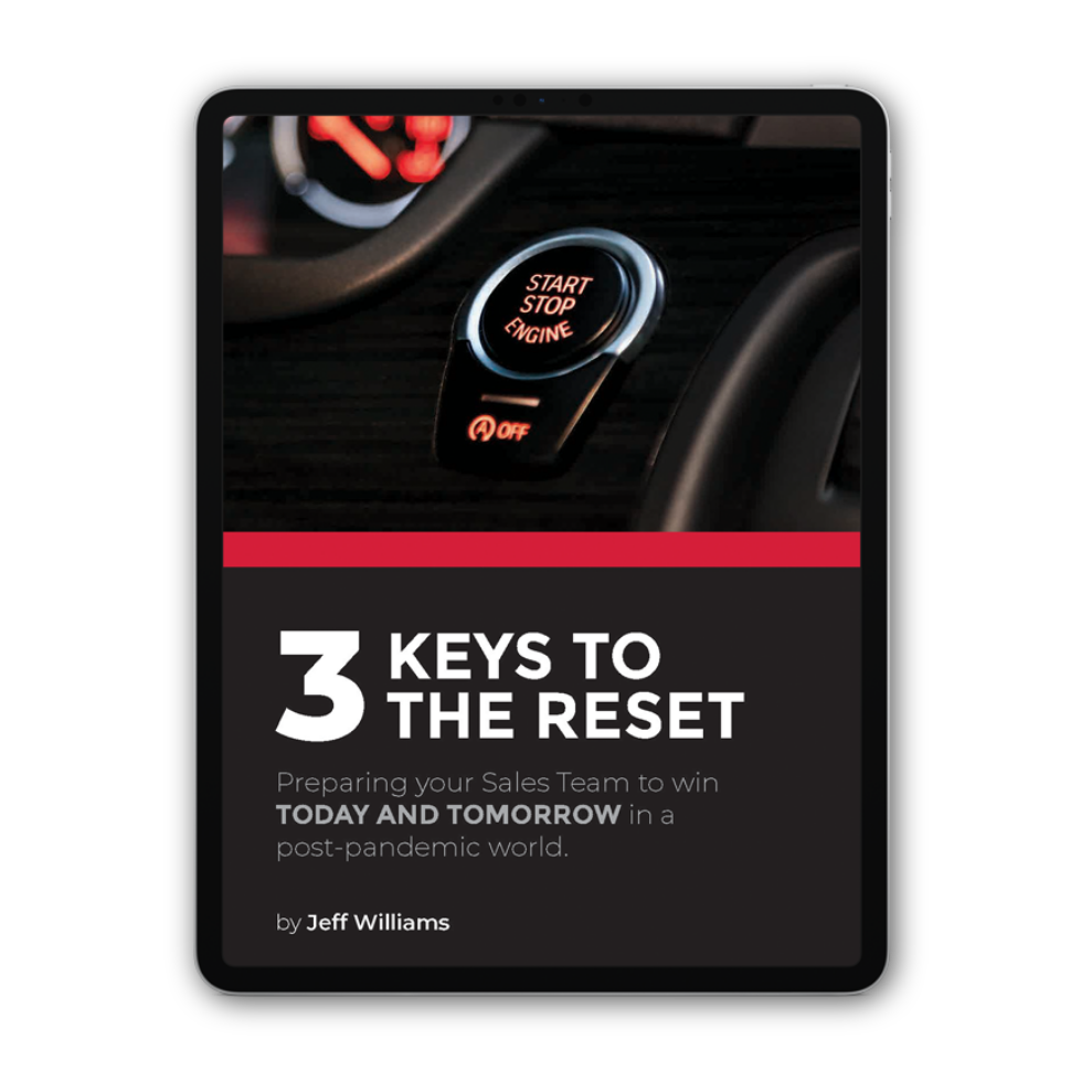 3 Keys to the Reset
